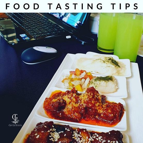 Food Tasting Tips