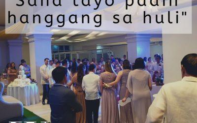 """Hugot ng Bride: """"Sana Tayo Padin Hanggang sa Huli"""""""