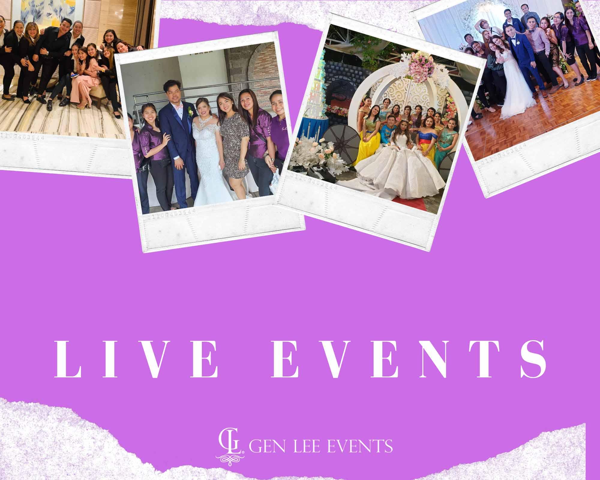 Gen Lee Live Events